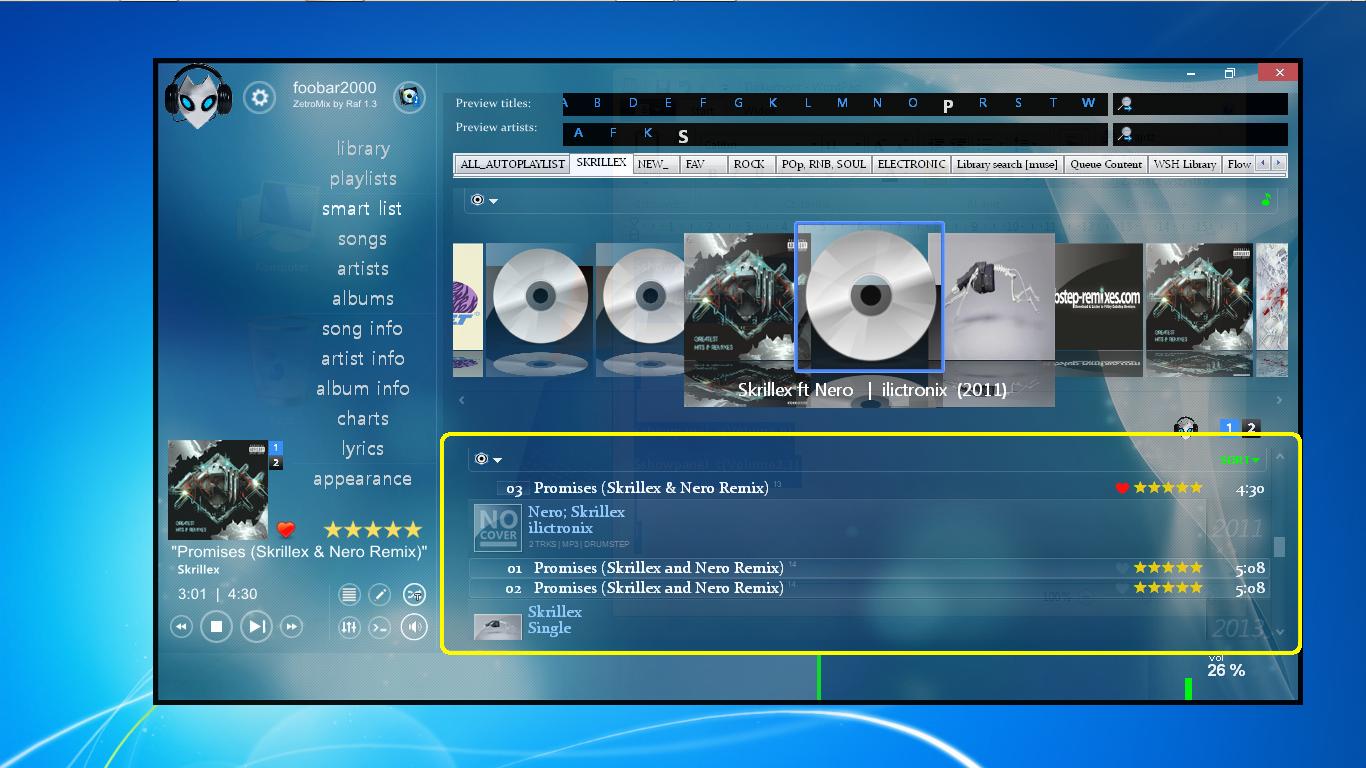 WSH Playlists Viewer Br3tt  by Raf by ralphiiiii