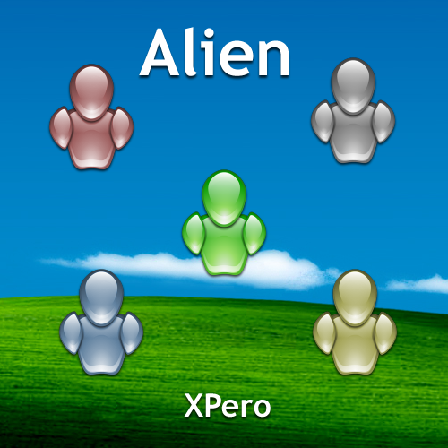 Cristal Aliens by XPero