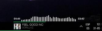 Spotify Player Simple  by zhelox