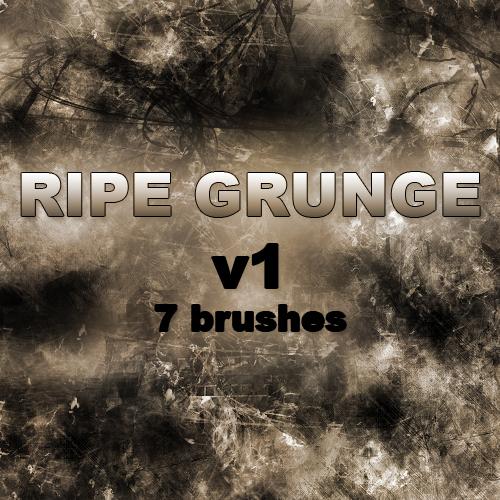 RIPE GRUNGE v1 - 7 Brushes
