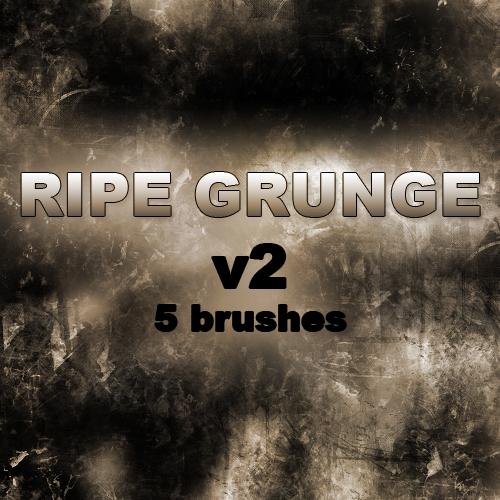 RIPE GRUNGE v2 - 5 brushes