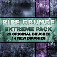 RIPE GRUNGE EXTREME BRUSH PACK by RazorICE