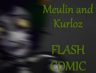 Meulin and Kurloz FLASH COMIC by ColacatintheHat