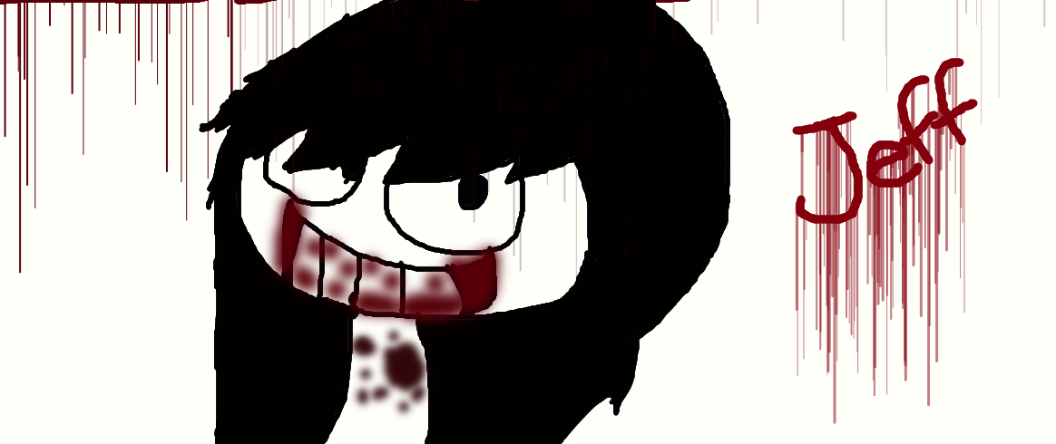 redraw jeff the killer - photo #29