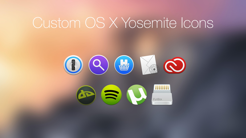 Custom OS X Yosemite icons by BAMgraphics on DeviantArt