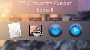 OSX Yosemite Custom Icons V2