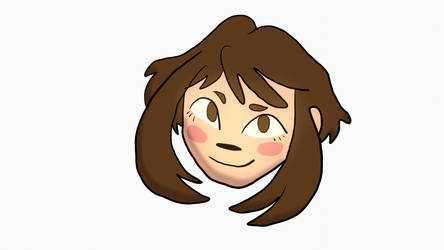 Uraraka Blender 2.8 doodle