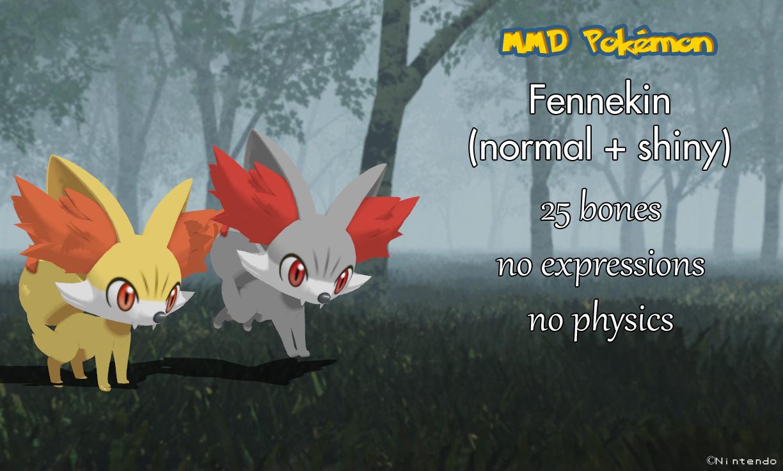 MMD Pokemon XY - Fennekin -close-