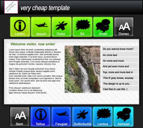 A free web template