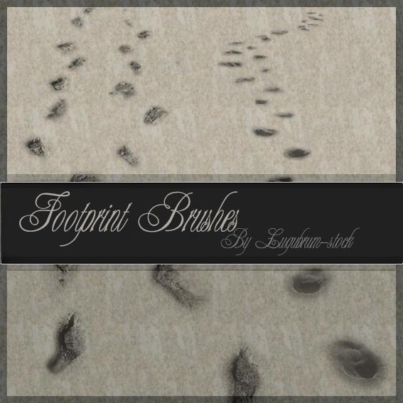 Lugubrum-stock footprintbrush by lugubrum-stock