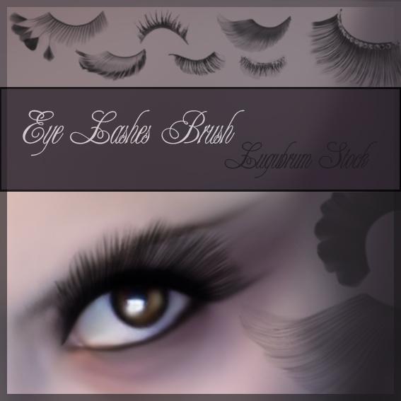Eye Lashes by Lugubrum-stock