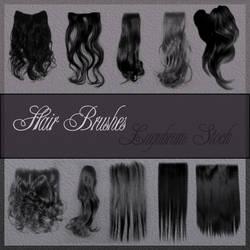Hair brushes by Lugubrum-stock by lugubrum-stock