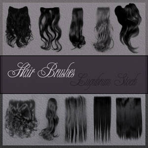 Hair brushes by Lugubrum-stock
