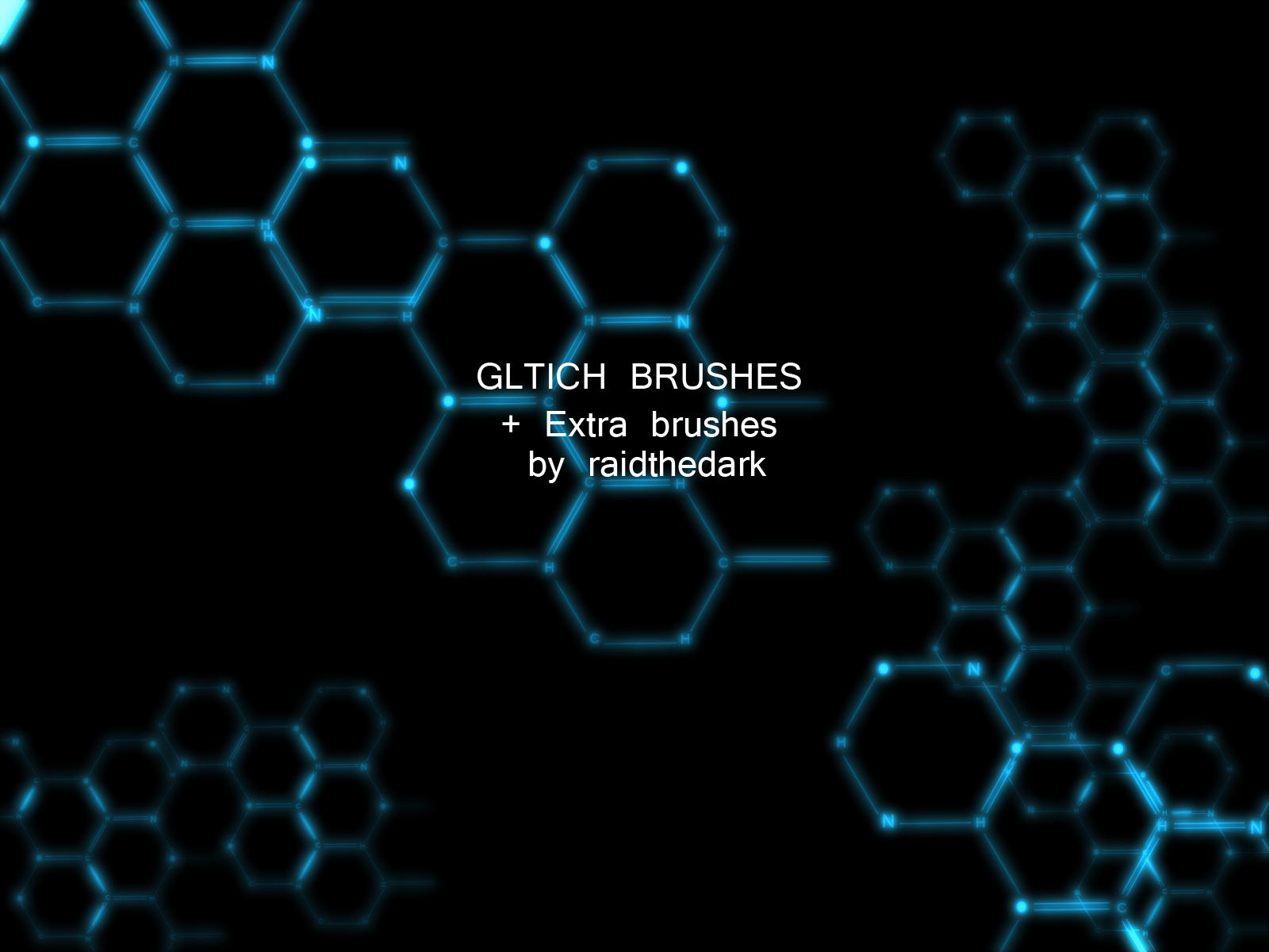 Glitch Brushes and stuff by Raidthedark