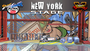SF V Mod - SFA2 Rolento's Stage, New York