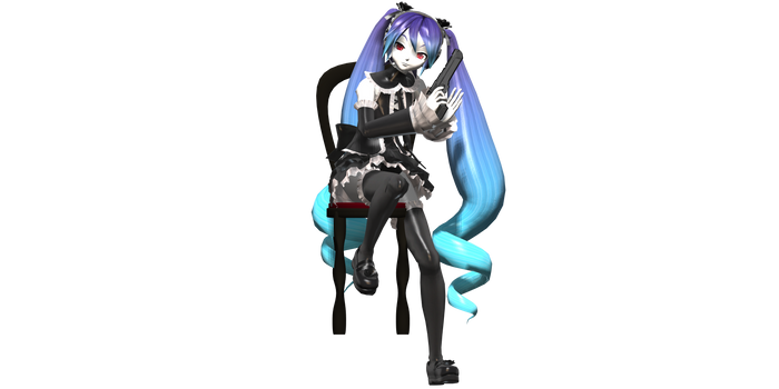 MMD - The Godfather [Pose Data] {DL} by AnonimateSpectre