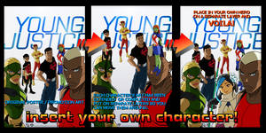 Young Justice poster fill-in