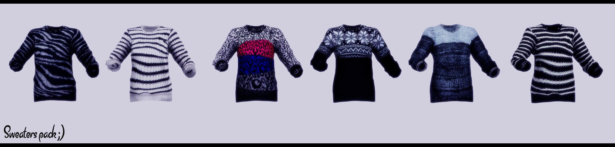 Sweaters pack by Mari-Ichi