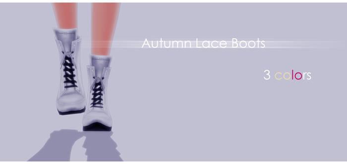 Autumn Lace Boots