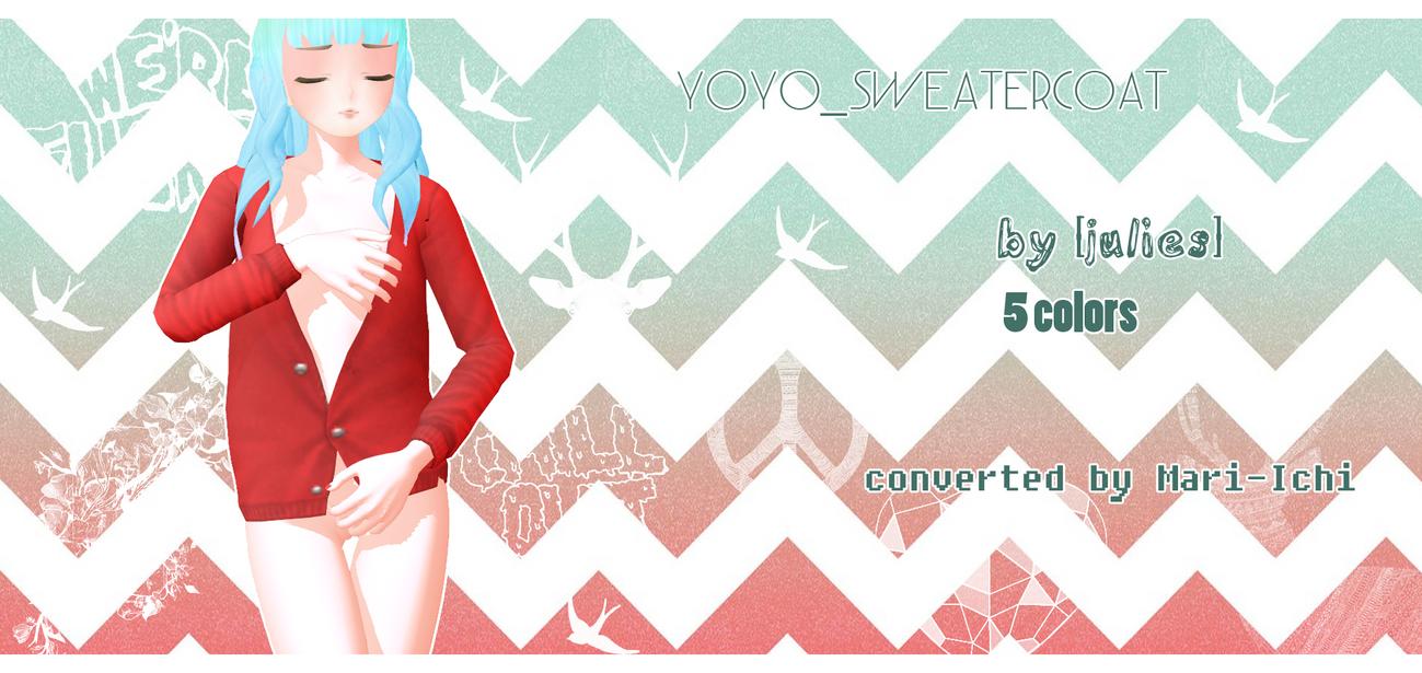 yoyo SweaterCoat Download by Mari-Ichi