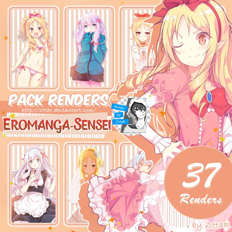 Pack Renders #11 Eromanga-sensei [Elf Yamada] by ZttaR