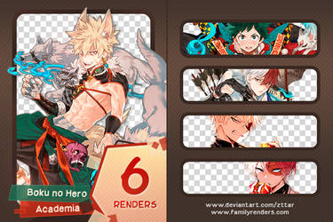 Pack #15 Boku No Hero Academia by ZttaR