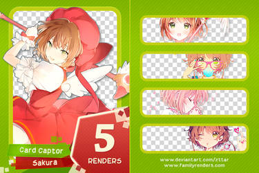 Pack #17 Sakura Card Captor by ZttaR
