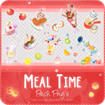 Pack Png's #4 Meal Time