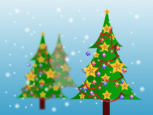Christmas tree symbols by 10stock