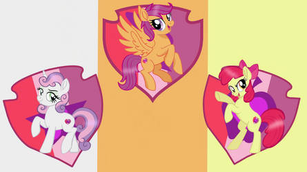 The Cutie Mark Crusaders by millerrachel