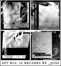 icon brush set 14 - PS7 by radiosoundx