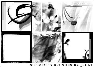 icon brush set 13 - PS7 by radiosoundx