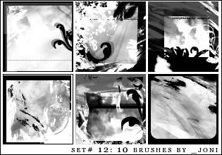 icon brush set 12 - PS7 by radiosoundx