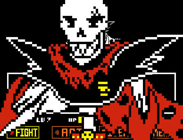 GIF)UnderFell AU - Papyrus Sprite(GIF) by Never0ff on DeviantArt