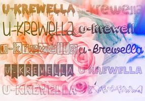 nuevas fonts | u-krewella by u-krewella
