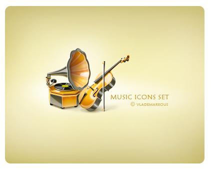 4 music icons