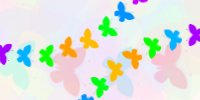 Gimp Brush - Butterflies 1 by chibiki