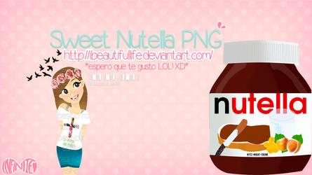 Nutella PNG by Yoluu