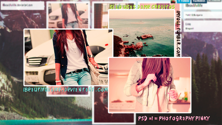 PSD#1 Photography Pinky by IBeautifullife