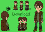 HTTYD Hiccup - Shimeji