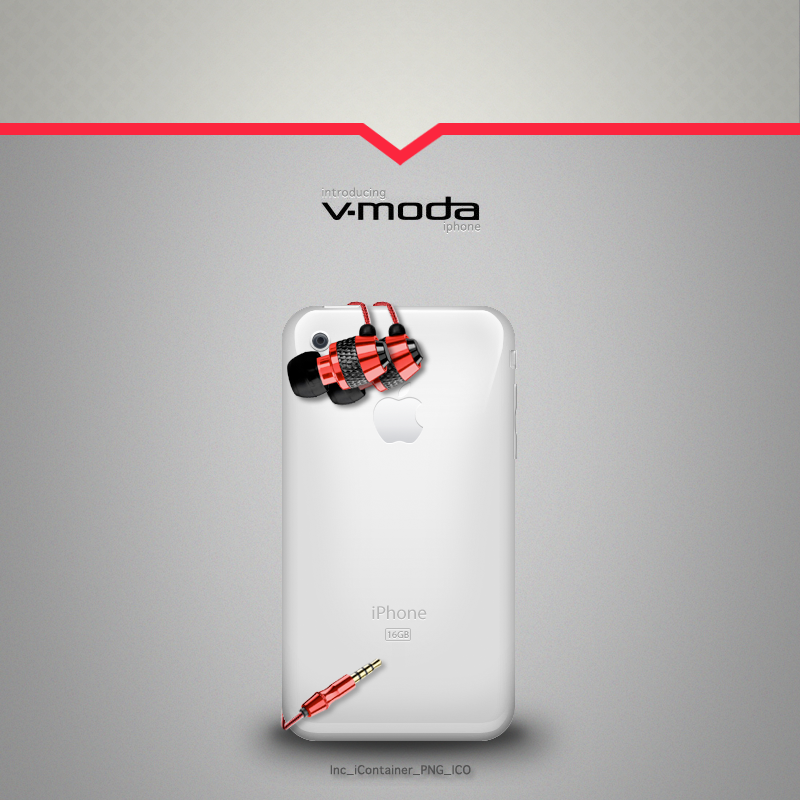 V-moda iPhone by 7UR