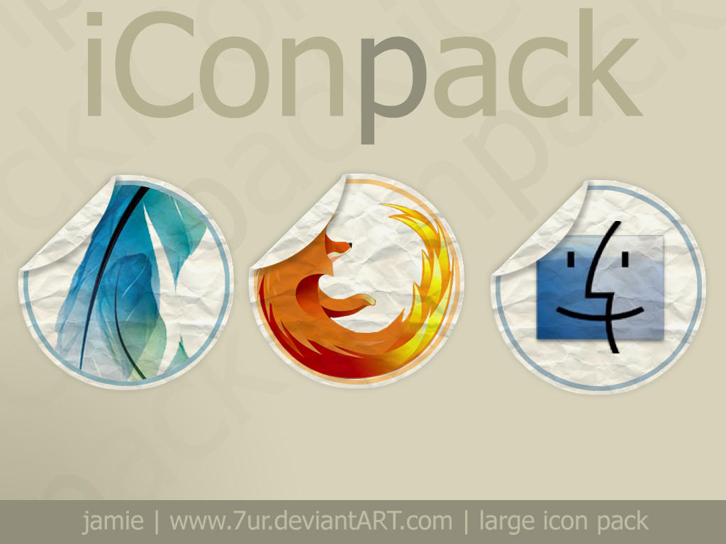 iConPack - now with psd