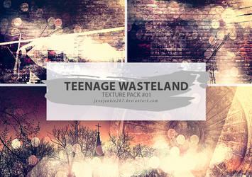 Textures #01 - Teenage Wasteland by JJ-247