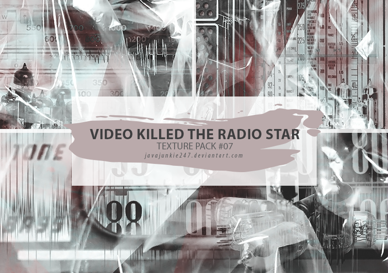 Textures #07 - Video Killed The Radio Star by JJ-247