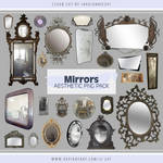 Mirrors Aesthetic PNG Pack