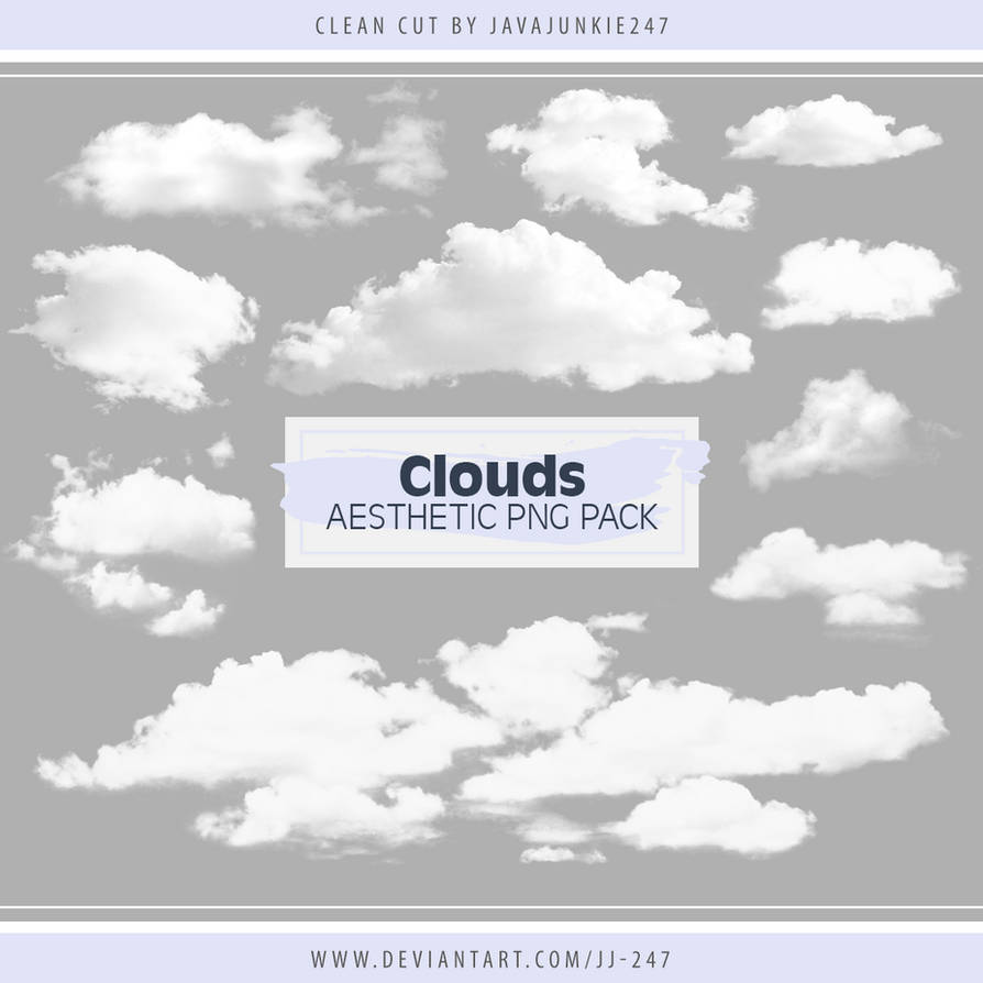 Clouds Aesthetic Png Pack By Jj 247 On Deviantart
