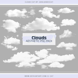 Clouds Aesthetic PNG Pack