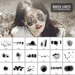 Bokeh Lights Brush Pack