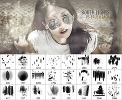 Bokeh Lights Brush Pack by JJ-247
