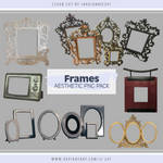 Frames Aesthetic PNG Pack